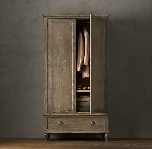 Maison Armoire Restoration Hardware - for front hall - Maison Armoire. Can You Believe This Is $1695? Yeah, But I Still