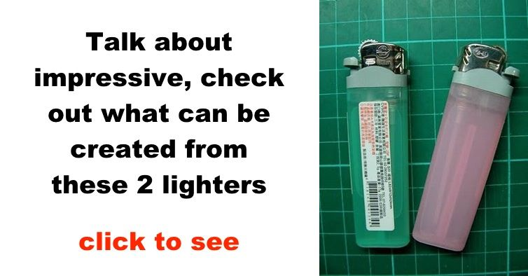 how to make a quick lighter