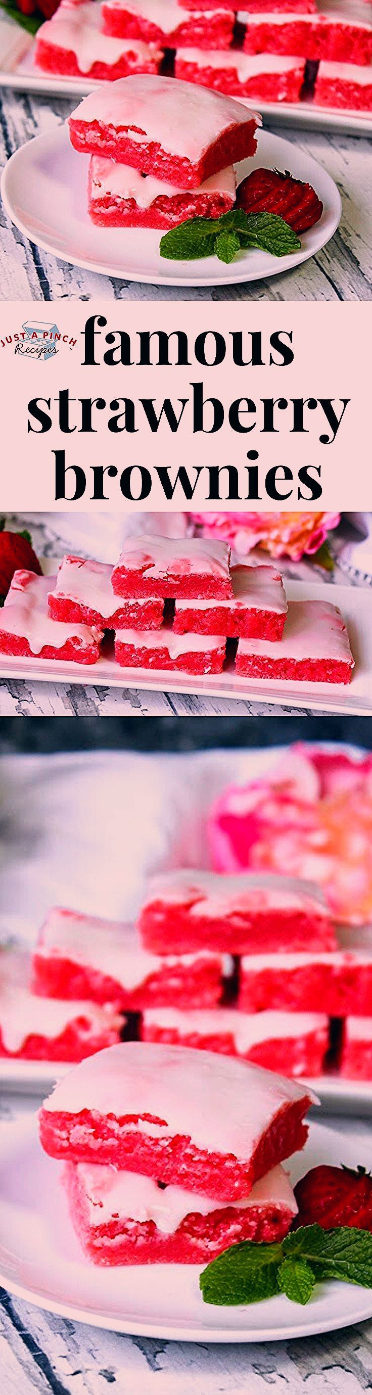Photo of Family Savvy Famous Strawberry Brownies