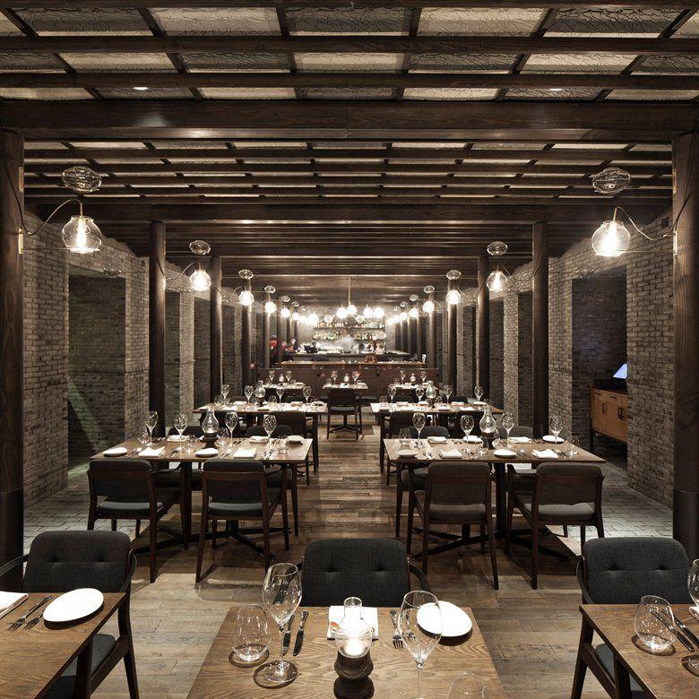 Capo restaurant, Shanghai, 2012 - Neri & Hu Design and Research Office