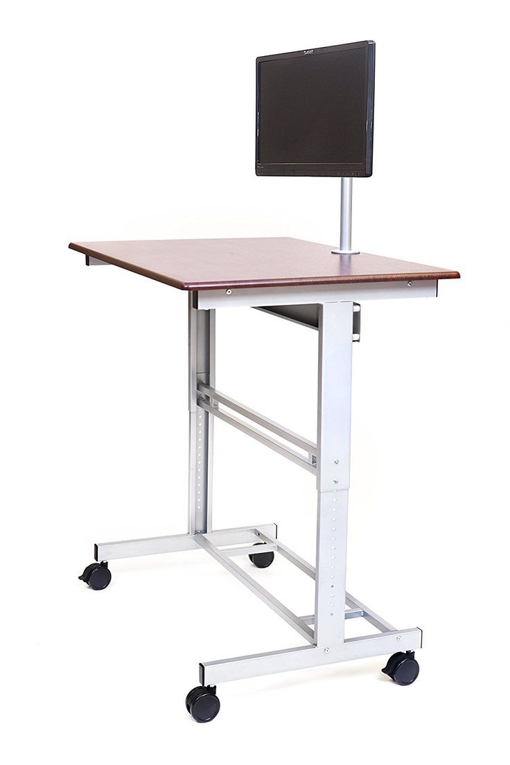 Home office adjustable stand up computer desk amazon products