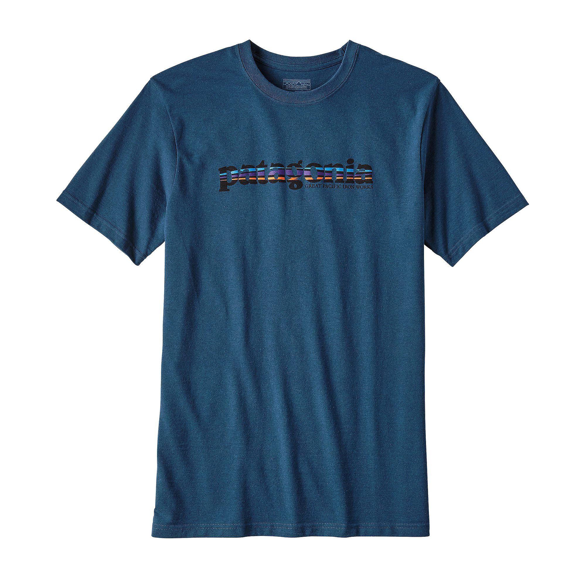 Patagonia Text Logo T-Shirt Short-Sleeve Men