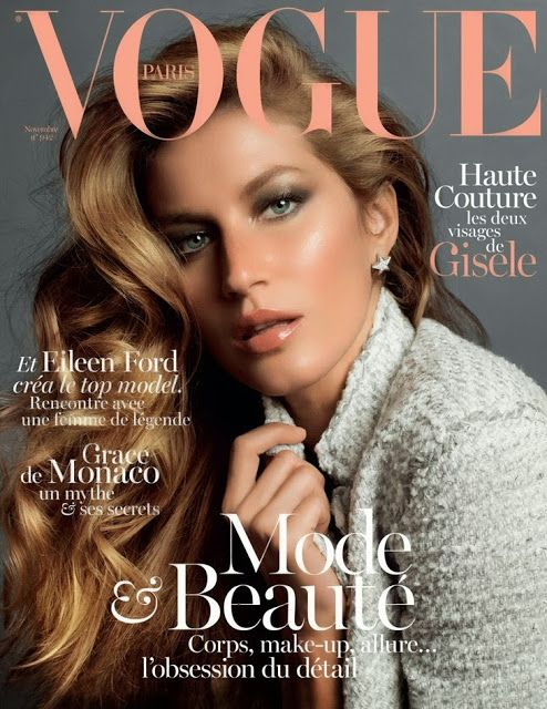 Gisele Bündchen for Vogue Paris November 2013 - Full Editorial NSFW