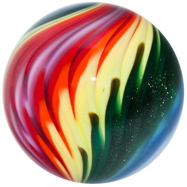 Kris Parke Glass Marbles Paperweights More 1 1 2 Rainbow Electric Flames Marble Marble Art Glass Marbles Paperweights