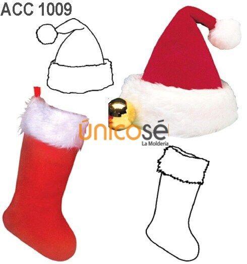 ùnicosé La Moldería Molde Gorros Navidad Arreglos De Navidad