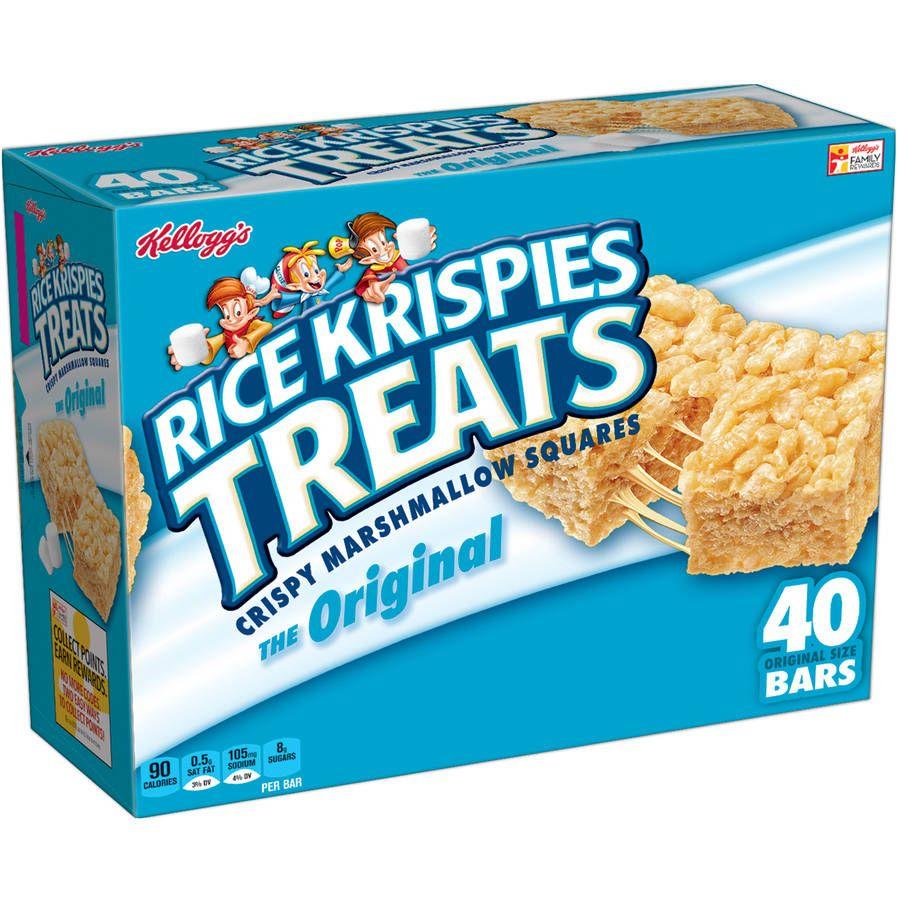 kellogg's rice krispies treats the original crispy marshmallow