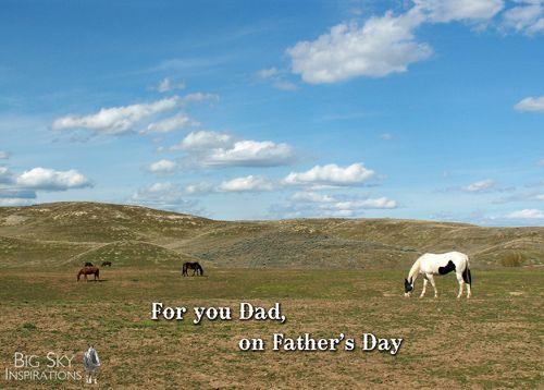 Father's Day Cards - Big Sky Inspirations -  Big Sky Inspirations