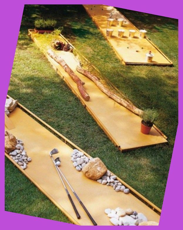 How to make 50 Outdoor games | Mini Golf Diy | Putting ...