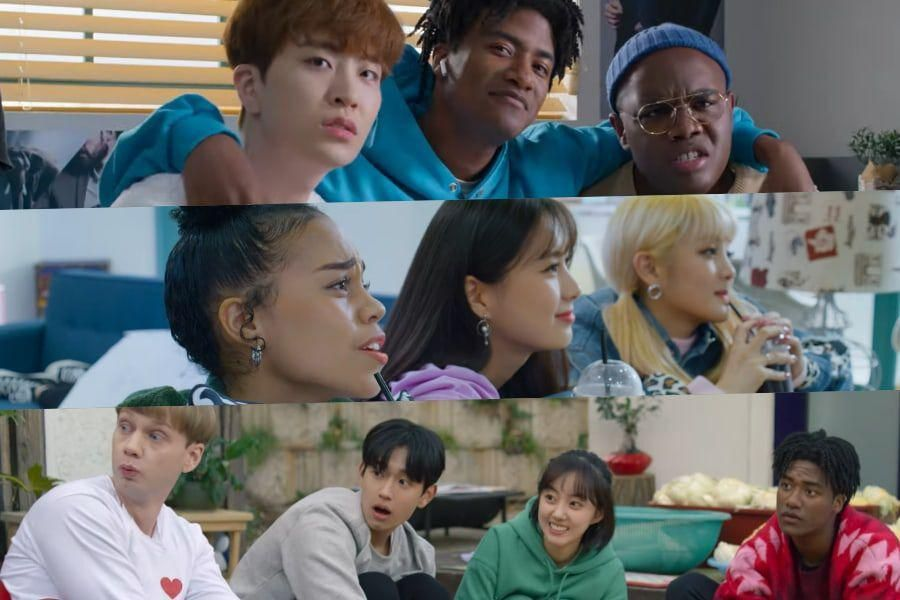 """Watch: """"So Not Worth It"""" Previews The Chaotic Friendship Of GOT7's Youngjae, (G)I-DLE's Minnie, Han Hyun Min, And More In New Teaser"""