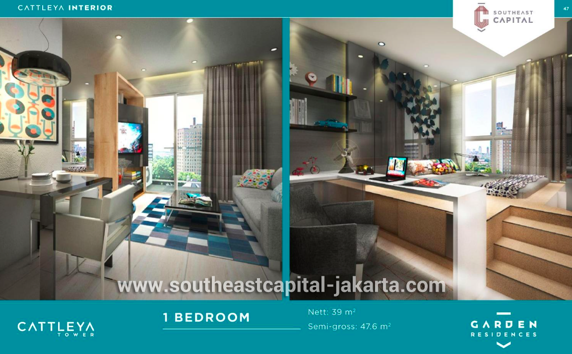 Dijual Apartemen Southeast Capital Jakarta Tower Cattleya Apartment Tower Apartment Residences