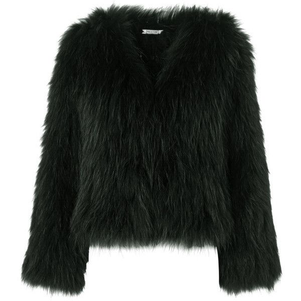 5000f6ea0b15 Racoon Fur Green (350.000 DKK) ❤ liked on Polyvore featuring jackets and  meotine