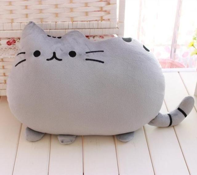 cat pusheen cat 40cm pillow cushion