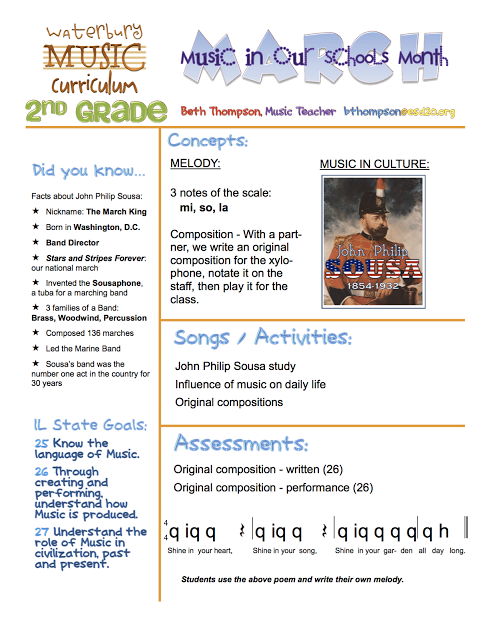 IDEA - Beth's Music Notes: More Newsletters - This is a great way to advocate!  Send home newsletters letting parents know what their students are learning in music!  It's more than they think.