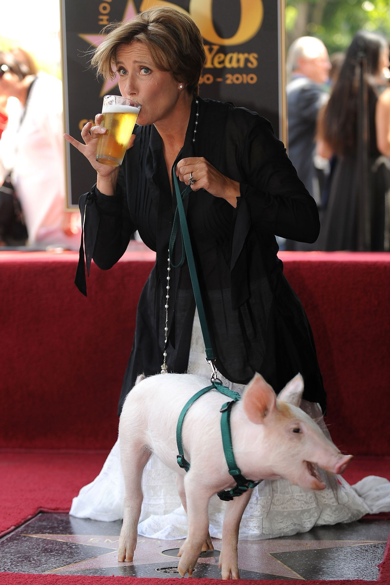 These Photos of Famous People Drinking Beer and Enjoying