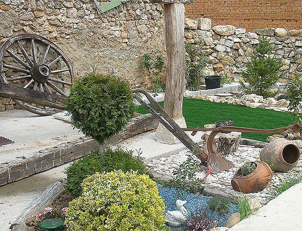 Ideas De Jardines Rusticos  Ideas de jardines rusticos Ideas