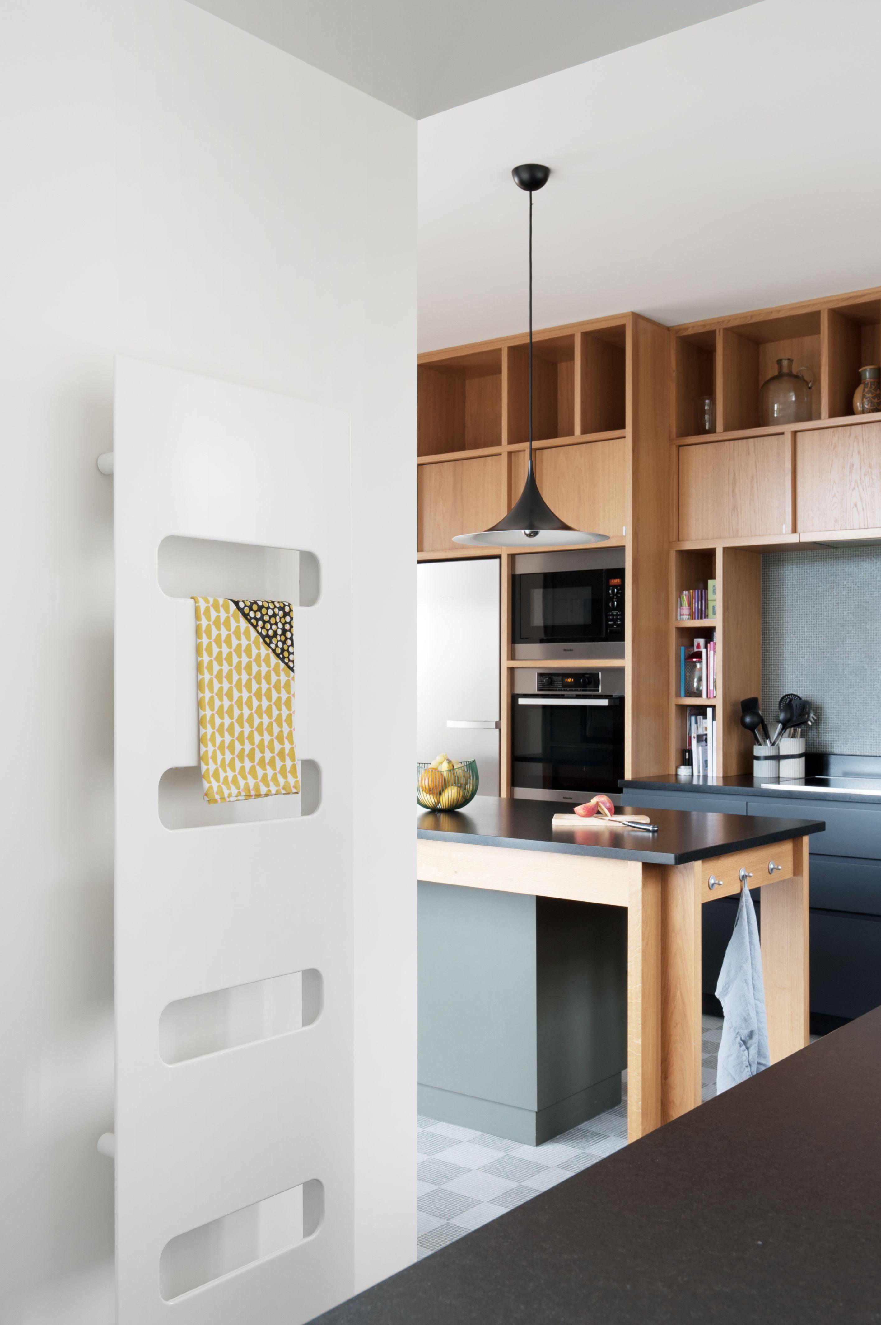 Radiateur Campa en acier pour la salle de bain ou la cuisine
