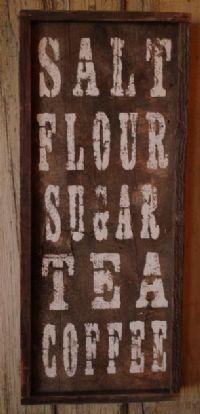 Cute barnwood sign for kitchen | Barn wood crafts, Barn ...