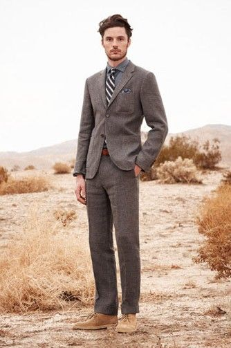 ff30ab11ad0 How to wear desert Boots with a suit.