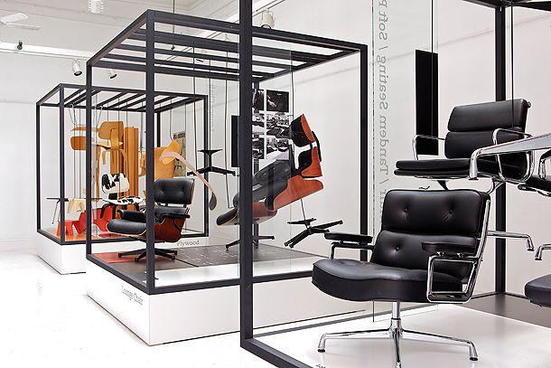 Vinçon y Vitra presentan la exposición Los Muebles de Charles y Ray Eames