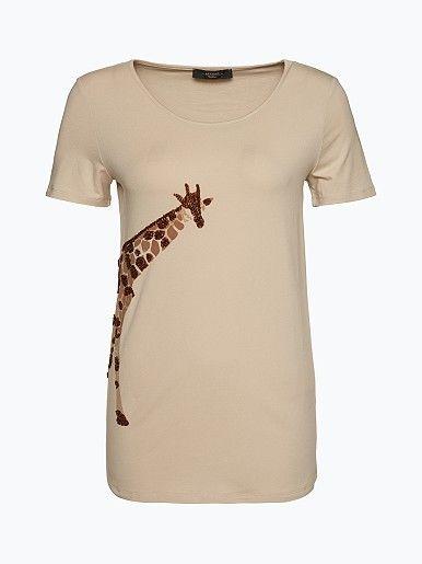 Max Mara Weekend Damen T-Shirt - Efeso - Efeso, das in weiter A-Linie geschnittene T-Shirt von WEEKEND MaxMara, ist aus besonders weichem Baumwoll-Stretch-Mix gefertigt, der für einen ausgezeichneten Tragekomfort sorgt. - Efeso, das in weiter A-Linie geschnittene T-Shirt von WEEKEND MaxMara, ist aus besonders weichem Baumwoll-Stretch-Mix gefertigt, der f...