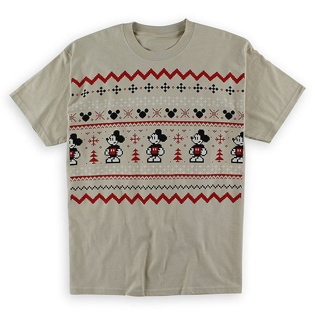 Fancy - Mickey Mouse Fair Isle T-Shirt | Fashion | Pinterest ...