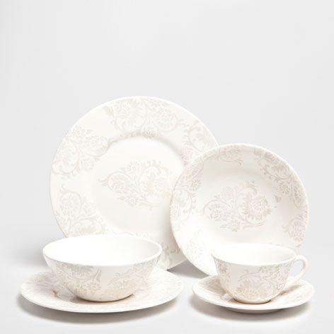 DAMASK TABLEWARE - Dinnerware - Tableware | Zara Home Croatia & DAMASK TABLEWARE - Dinnerware - Tableware | Zara Home Croatia | home ...
