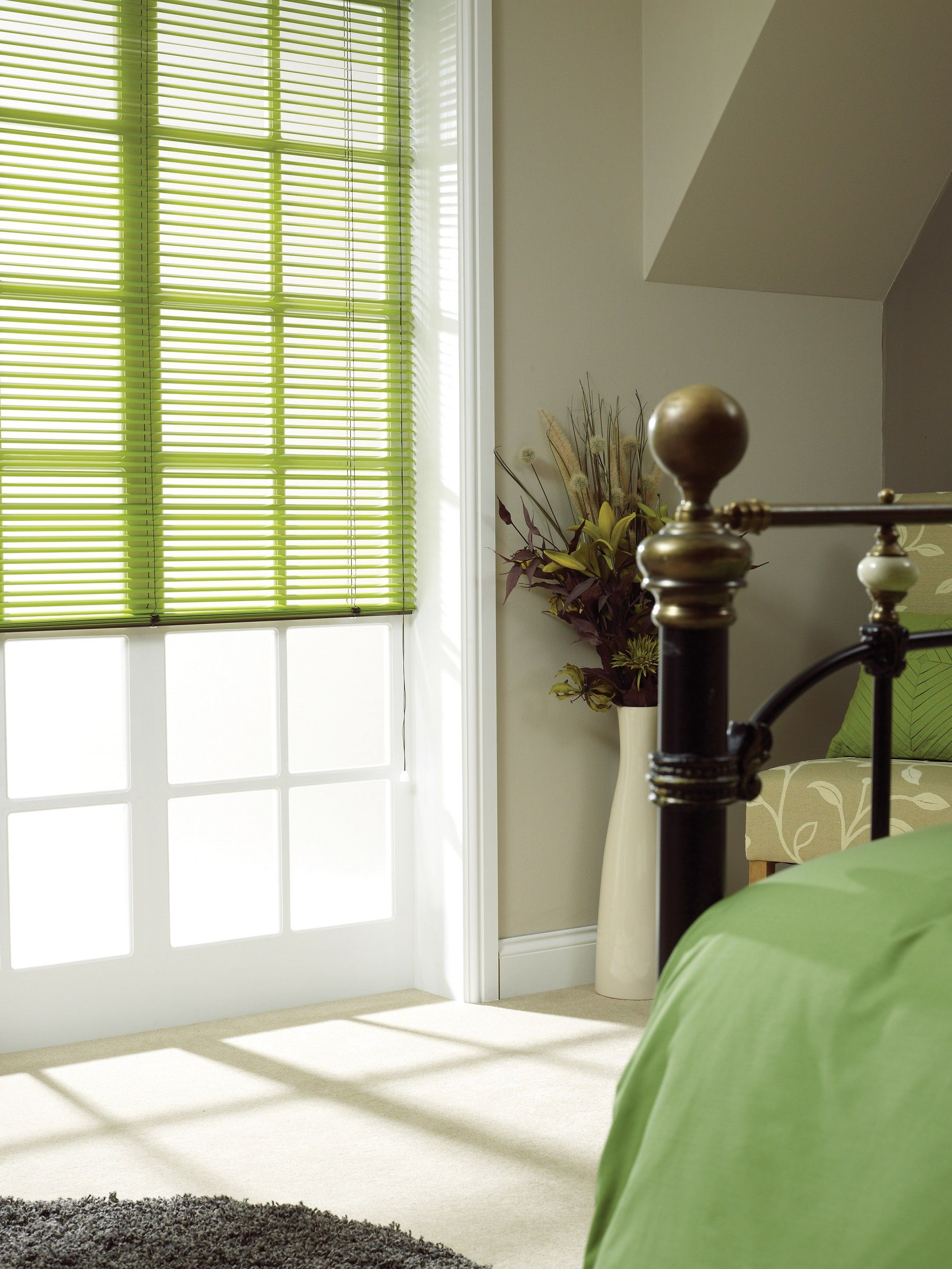 Apollo Green Blind Blinds for windows, Faux