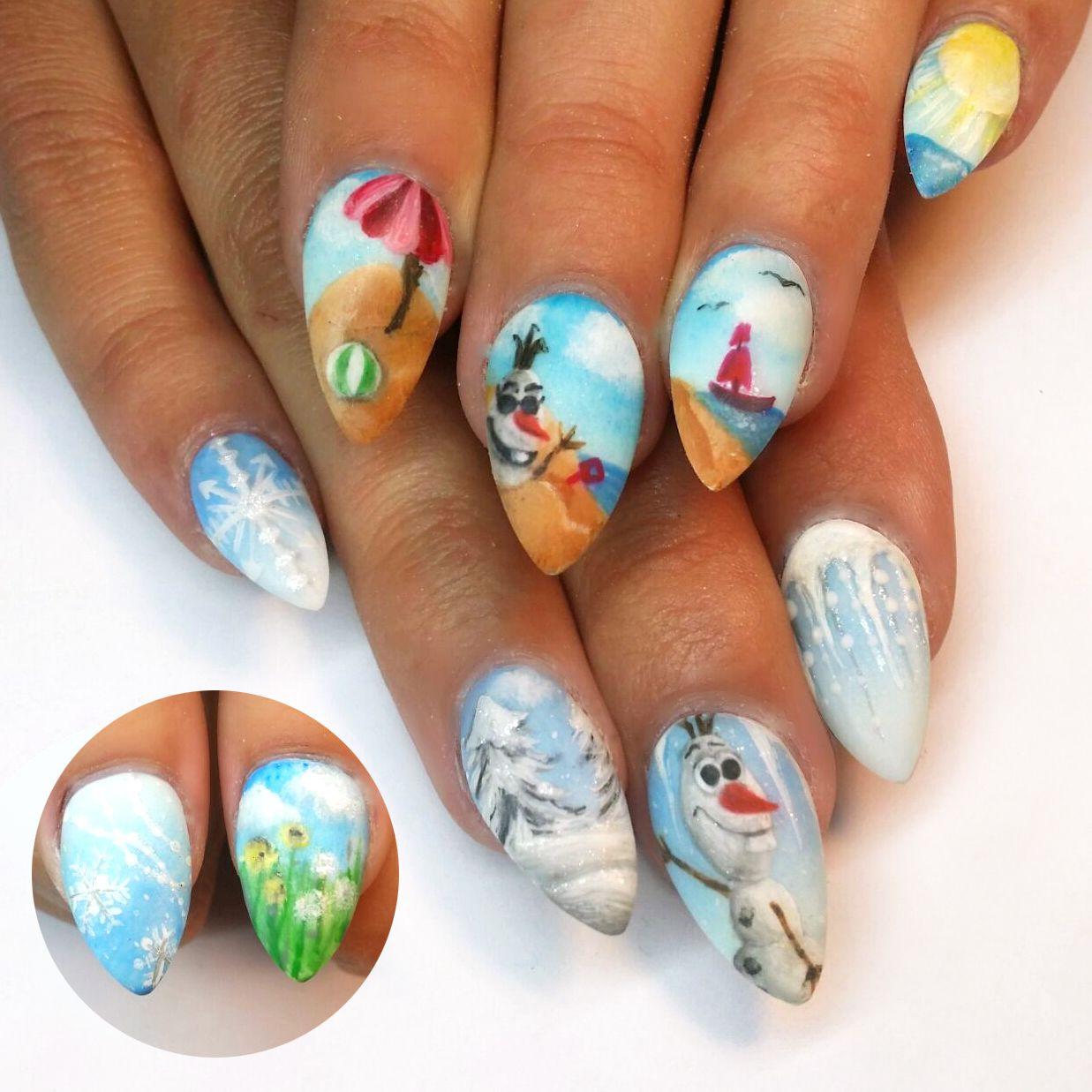 Danielle | Pinterest | Top nail, Nails magazine and Disney nails art