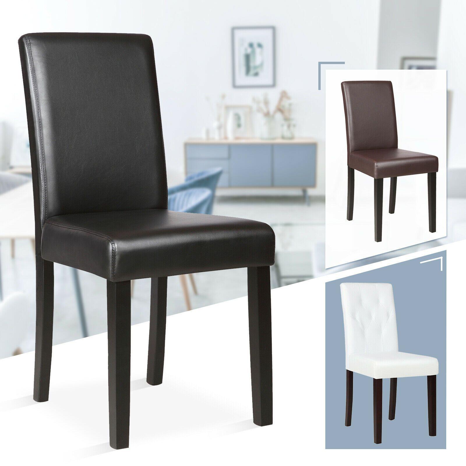 Swell Set Of 4 8 12 Pcs Black Brown White Leather Elegant Design Creativecarmelina Interior Chair Design Creativecarmelinacom