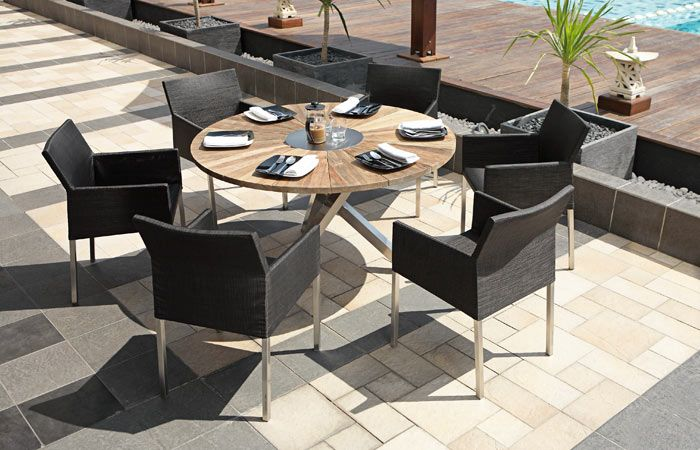 Oryx Table - Green Line from Zebra Outdoor Furniture with recycled ...