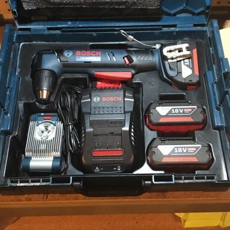 Fully Loaded Right Angle Drill L Boxx Bosch Tools Bosch Diy Tools