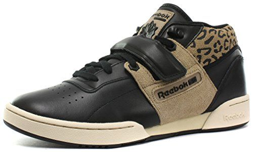 Reebok Classic Workout Mid Strap XE Mens Sneakers, Size 8.5