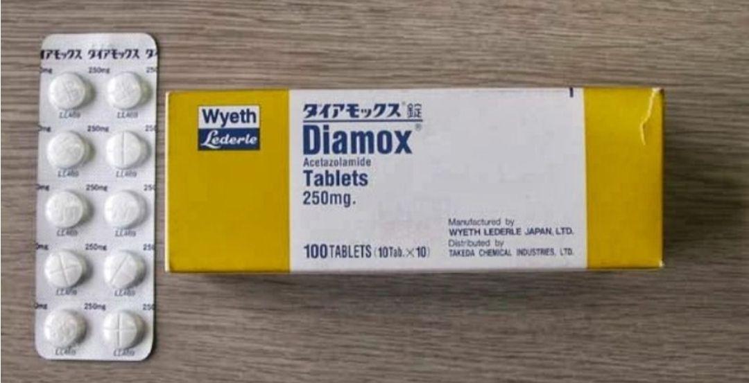 اسيتازولاميد Acetazolamide علاج مدر للبول Altitude Sickness Tablet Sick