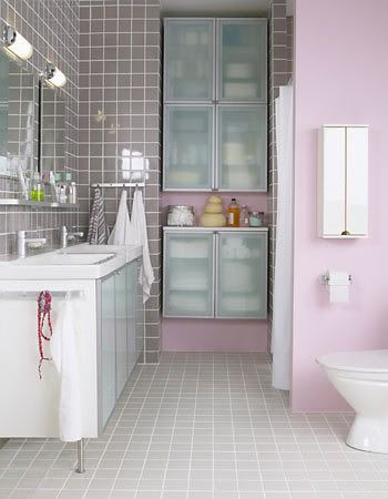 Pink Bathroom Small Bathroom Remodel Interior Design Color