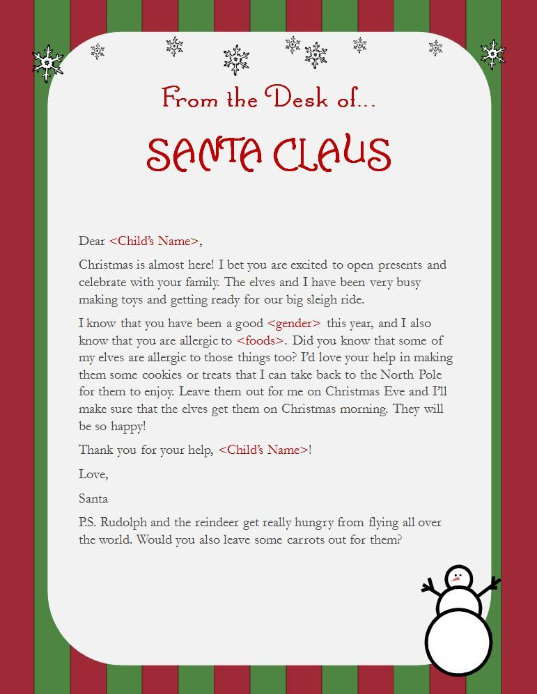 Elf On The Shelf Idea For Kids With Food Allergies In Many Homes Tradition Calls To Leave Milk And Cookies Santa Claus Christmas Eve