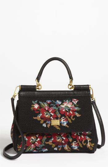 Dolce  Miss Sicily - Mini  Needlepoint Handbag available at  Nordstrom 03bbb93e2a