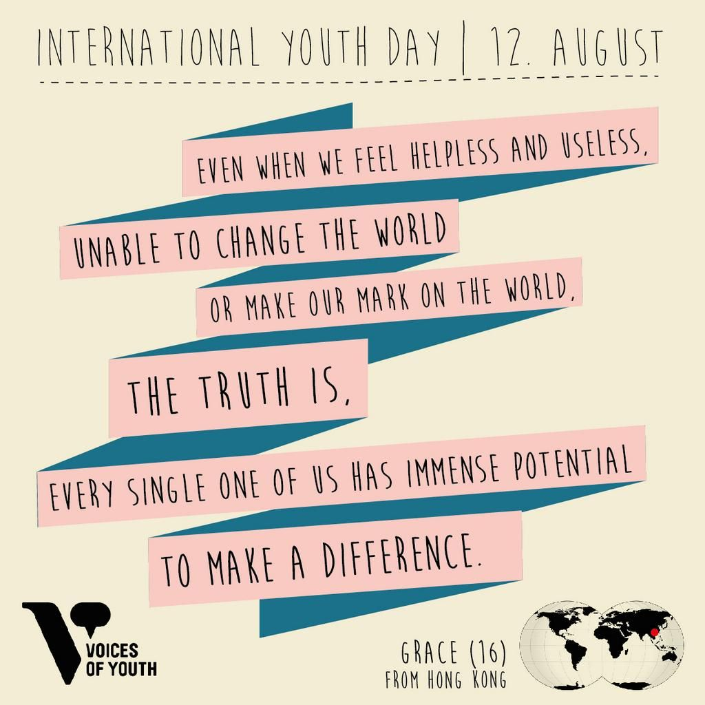 Voices Of Youth On Work Hard Play Hard International Youth Day