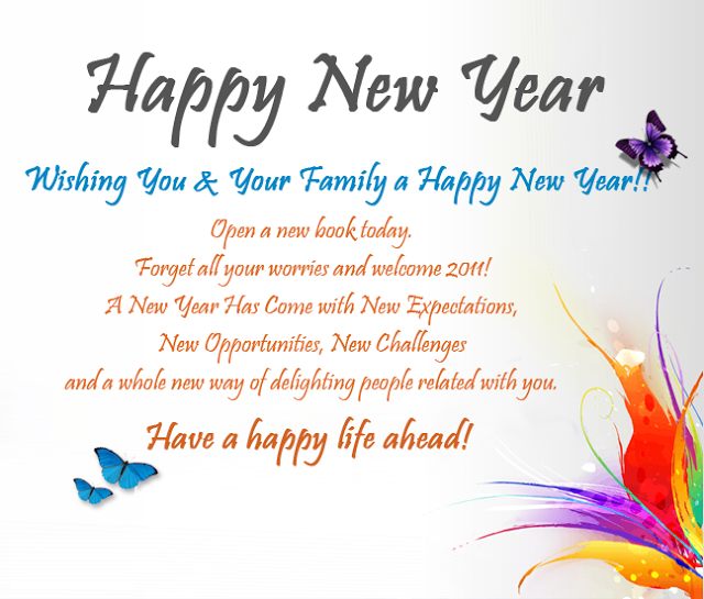 new year wishes for friends family 2018