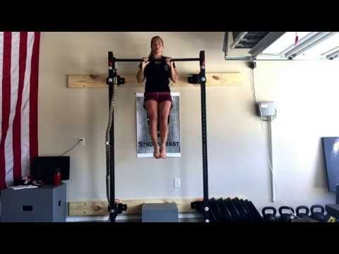 Karen Smith Master SFG/ Chief SFB - Tactical Pull Up , One Good Rep - YouTube