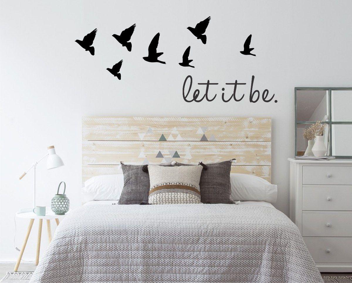 Vinilos decorativos de pared frases personalizados y m s - Vinilos decorativos dormitorio ...