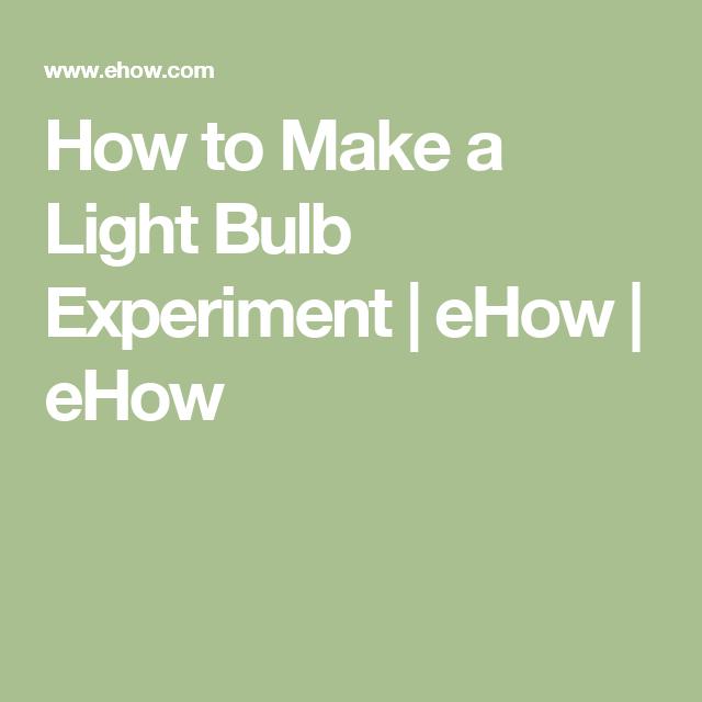 Potato Light Bulb Experiment for Kids | Body odor, Potato ...