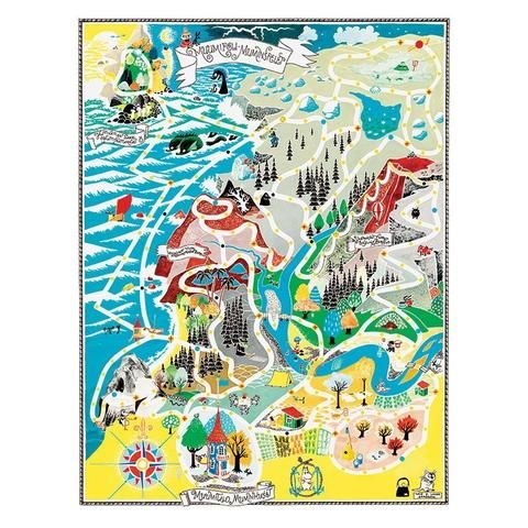 The selection of Moomin items for your home has been hand selected from more than 70 different manufacturers around the world. Brighten up your homewith a bit