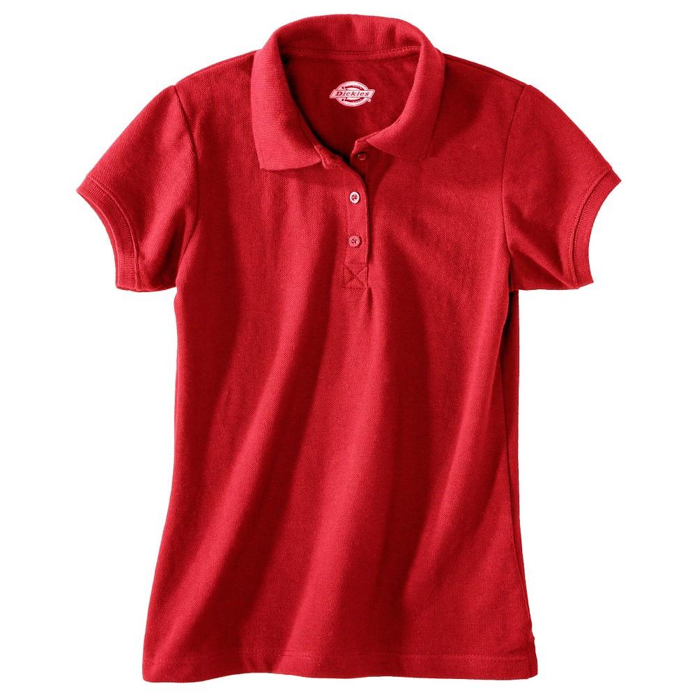red polo shirt school uniform