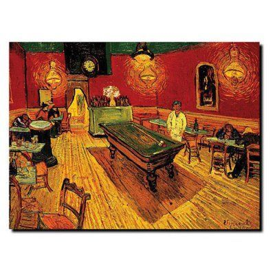 The Night Cafe Wall Art by Vincent Van Gogh - M234-C1419GG