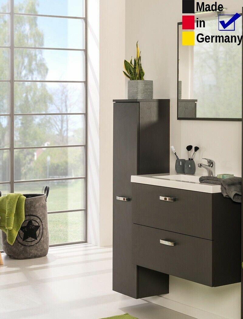 Badezimmer Quebec 35 Graphit 3 Teilig Waschtisch Wandspiegel Led Badmobel In 2020 Badezimmer Wandspiegel Waschtisch