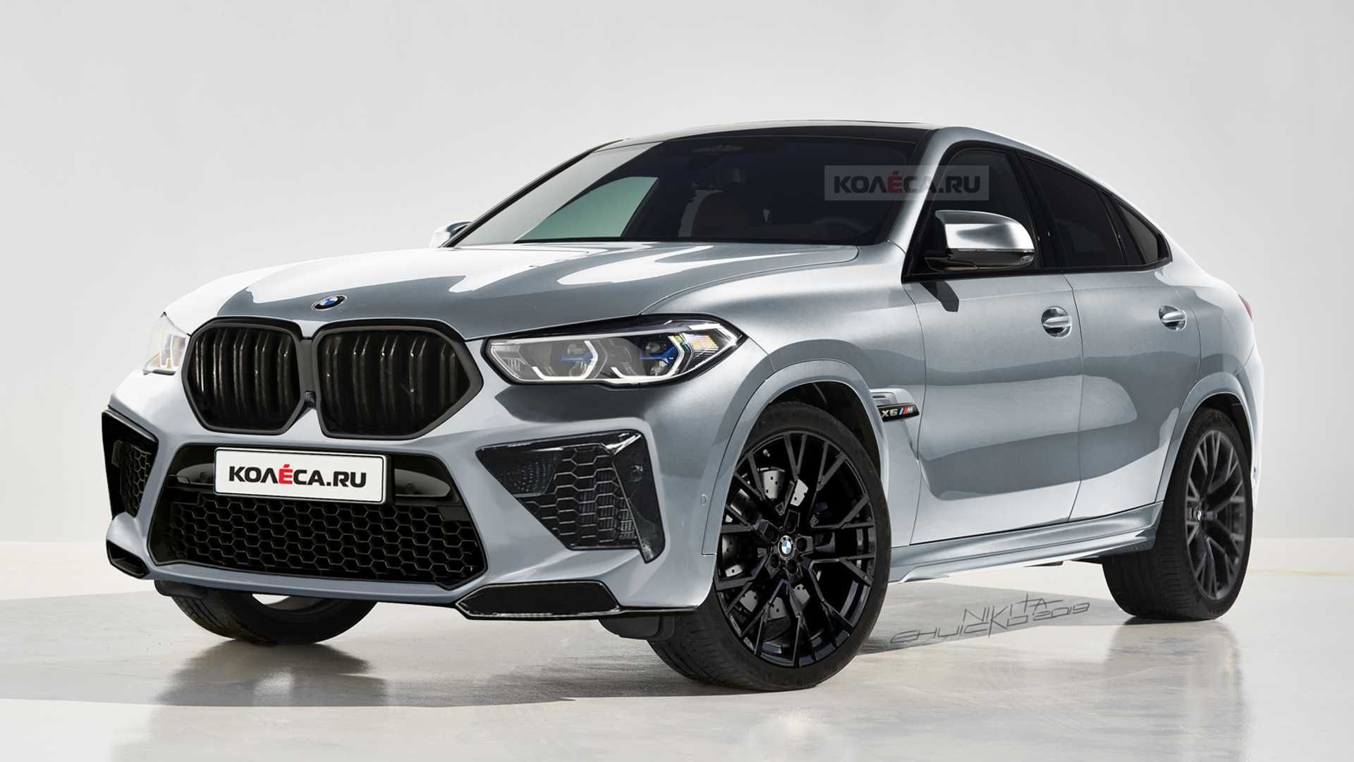 Upcoming Bmw X6 M Gets Rendered Based On The New X6 With Images