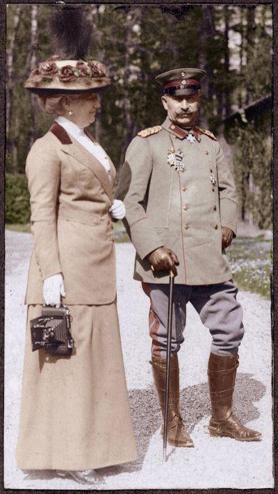 Kaiser Wilhelm und die Kaiserin