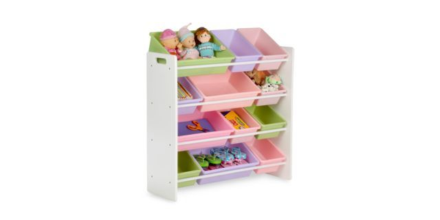 Honey Can Do Kids Toy Organizer And Storage Bins In Pastel