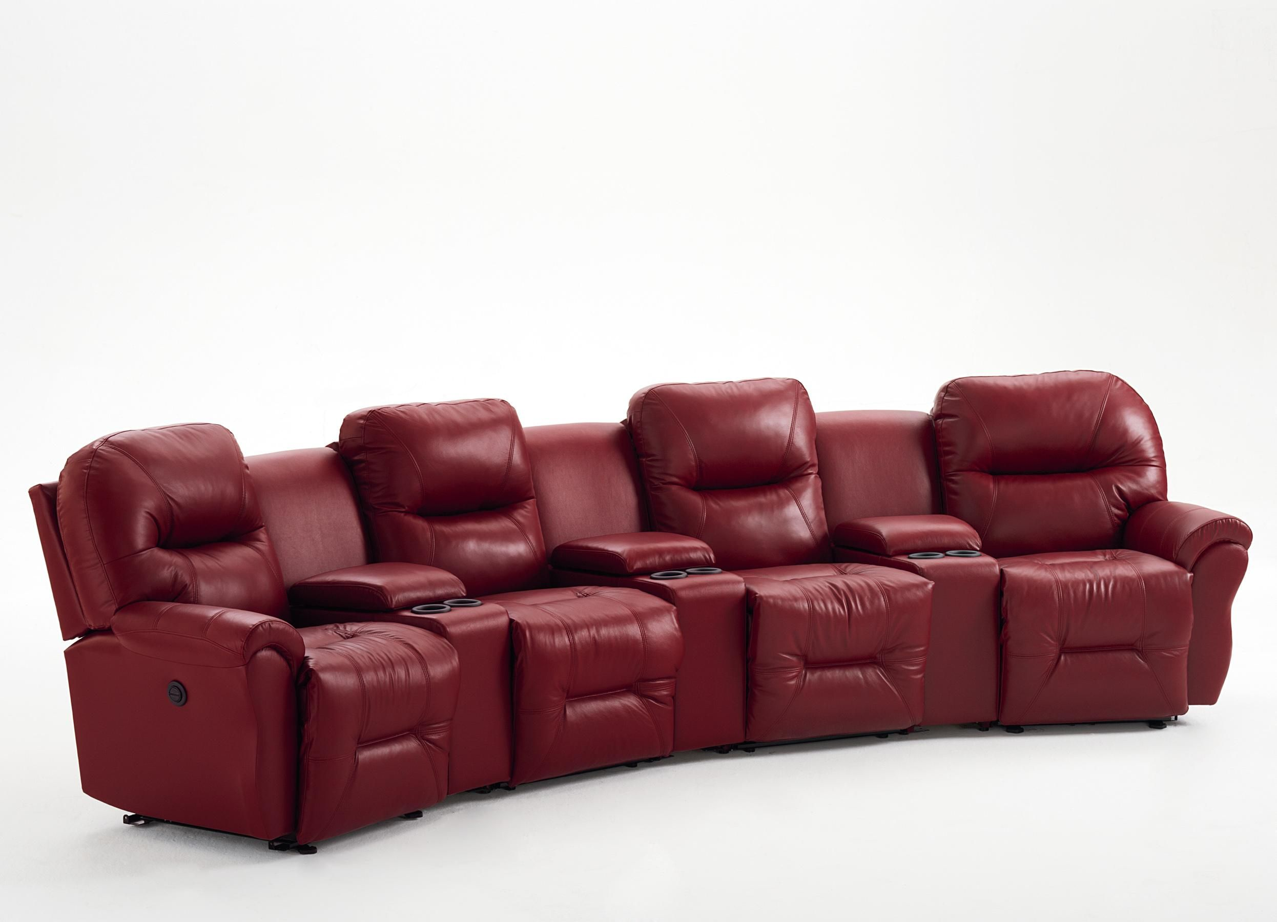 Bodie 4 Seater Power Reclining Home Theater Group By Best Home