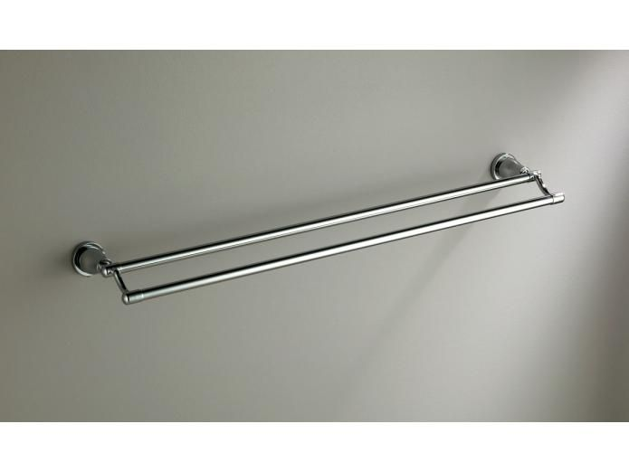 Dorf Loxton Double Towel Rail - matches the theme of the taps ...